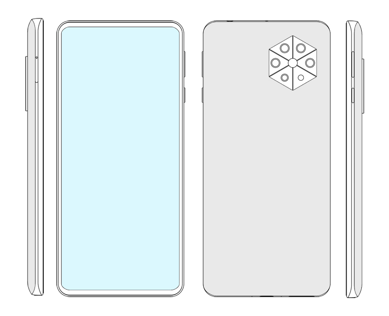 Huawei under-screen Front Camera Phone Patent