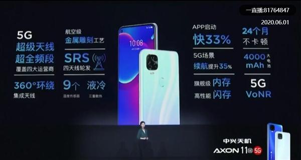 ZTE Axon 11 SE Features