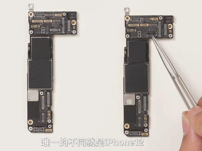 iPhone 12 teardwon