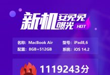 Apple M1 chip AnTuTu benchmark scorecard leaked