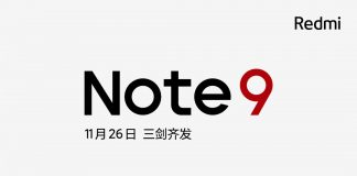 Redmi officially announced Redmi Note 9 series will be released on November 26