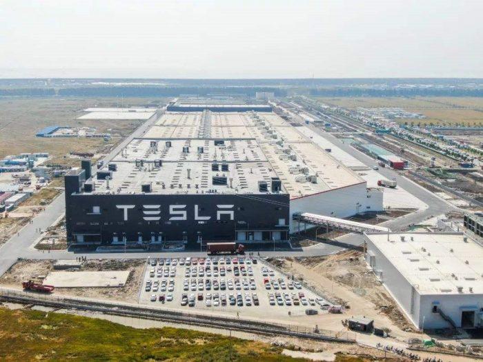 Tesla Shanghai plant