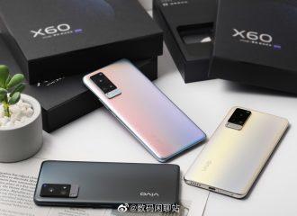 Vivo X60 live images