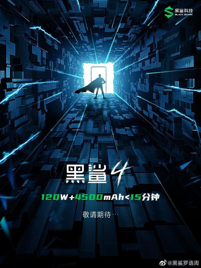 Black Shark 4 gaming phone announced