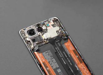 Xiaomi Mi MIX4 teardown